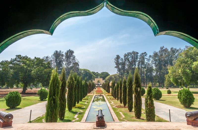 Sikt från slotten av den Tipu sultan arkivfoton
