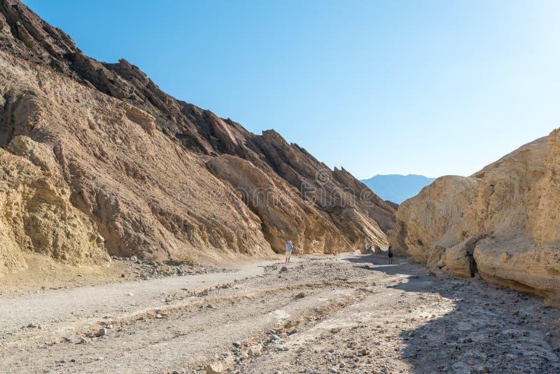 Sikt i Death Valley royaltyfria bilder