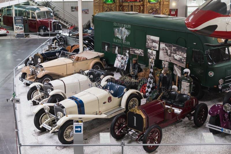 Sikt inom det Technik museet Sinsheim royaltyfria foton