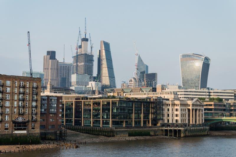 Sikt in mot Liverpool gataområde, London fotografering för bildbyråer