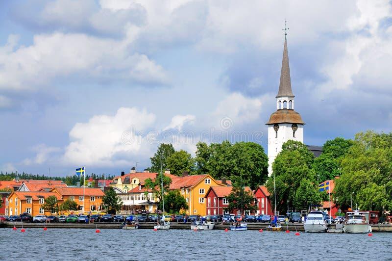 Download Sikt På Den Gripsholm Byn, Sverige Redaktionell Arkivfoto - Bild av kyrka, lake: 27275738
