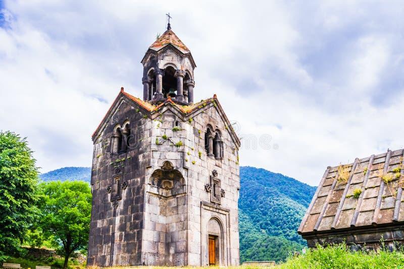 Sikt på den Haghpat kloster, i Armenien, världsarv av Unesco royaltyfri bild