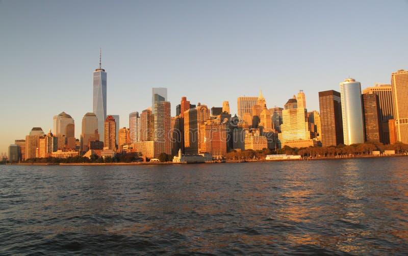 Sikt på Manhattan New York royaltyfria foton