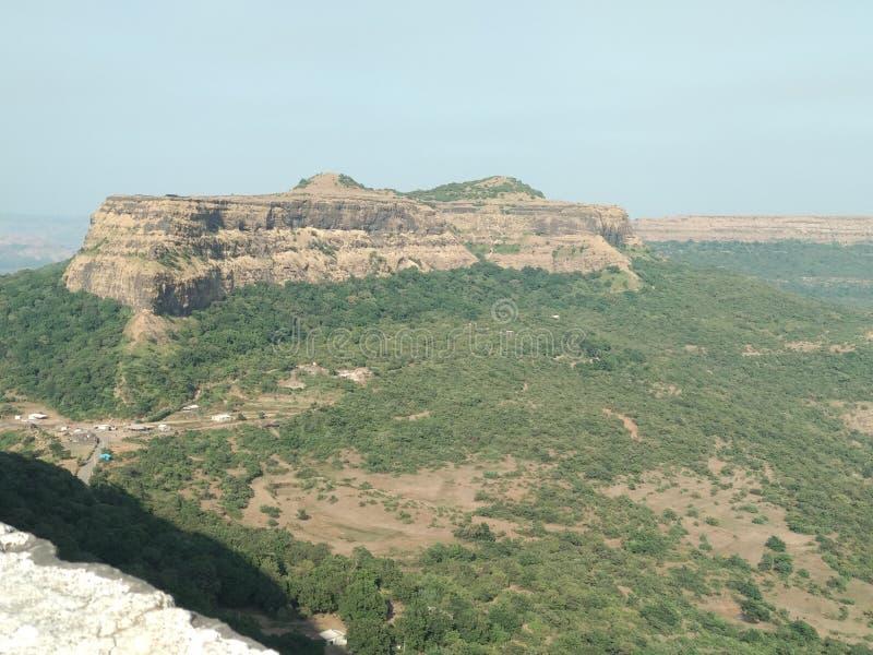 Sikt pune för Visapur fortnatur royaltyfria foton