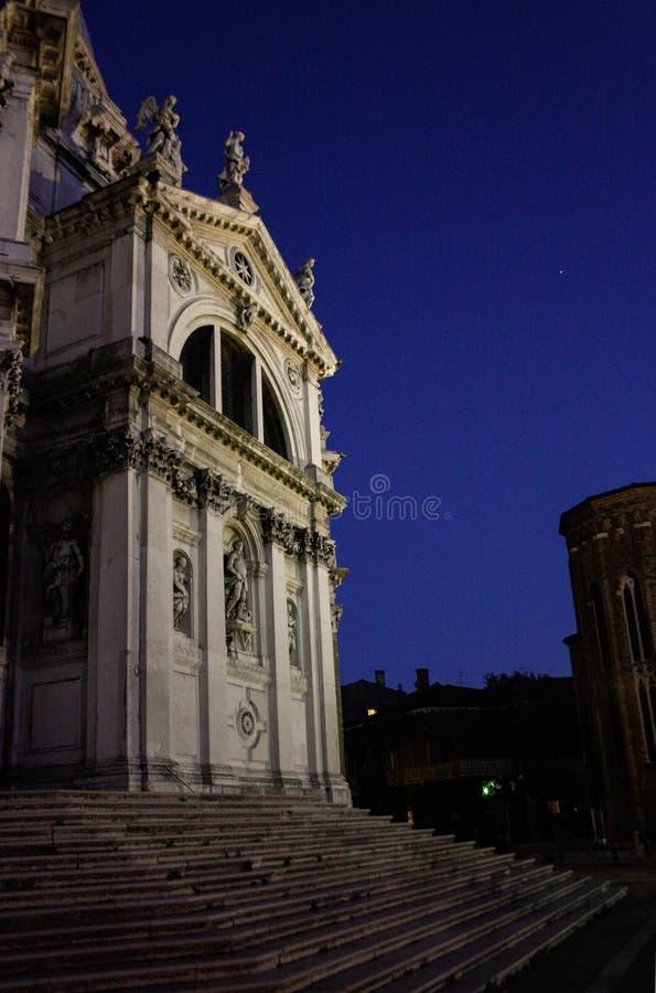 Sikt Santa Maria della Vittoria Venice royaltyfria bilder