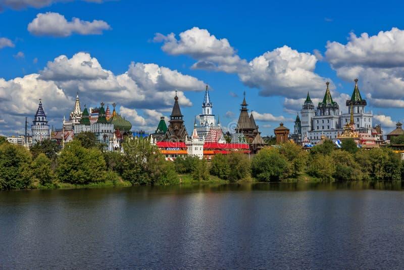 Sikten av Moskva royaltyfria bilder