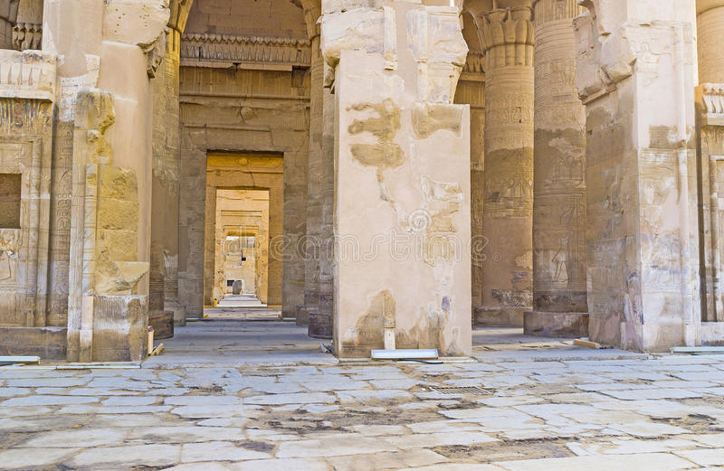 Sikten av Temple&en x27; s-ingång fotografering för bildbyråer