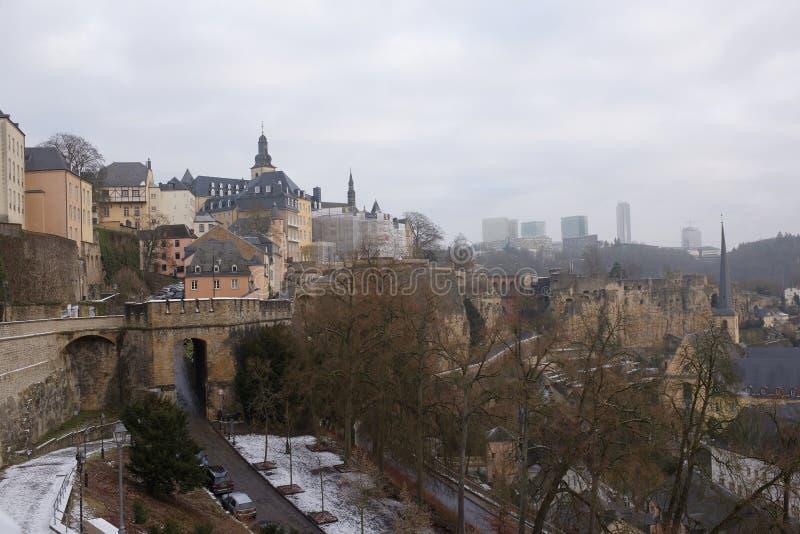 Sikten från den mest härliga balkongen av Europa royaltyfri foto