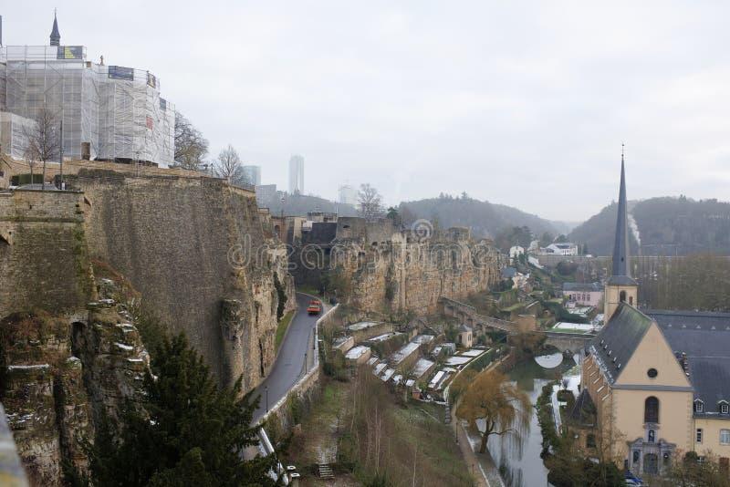 Sikten från den mest härliga balkongen av Europa arkivfoto