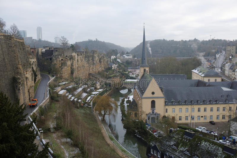 Sikten från den mest härliga balkongen av Europa royaltyfri fotografi