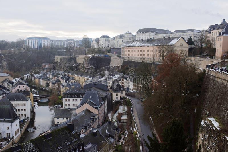 Sikten från den mest härliga balkongen av Europa royaltyfri bild
