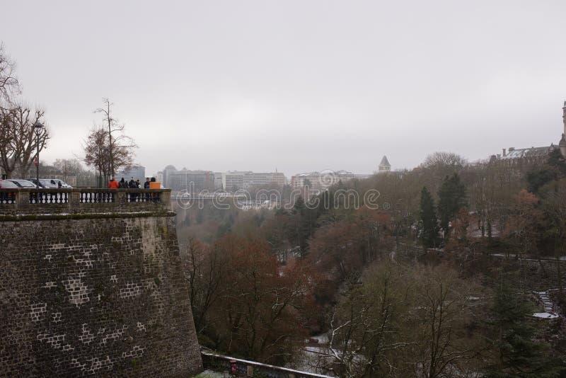 Sikten från den mest härliga balkongen av Europa royaltyfria foton