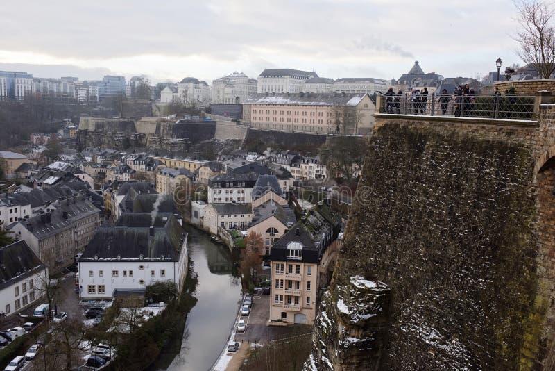 Sikten från den mest härliga balkongen av Europa royaltyfria bilder