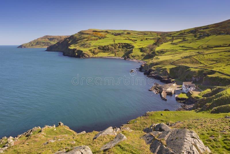Sikten från Torr Head i nordligt - Irland royaltyfria bilder