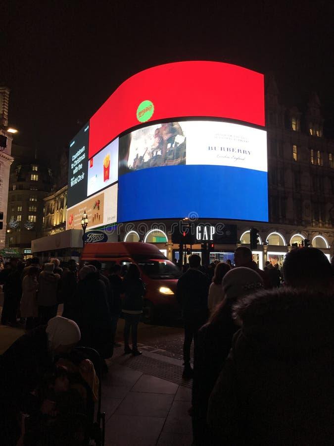 Sikter av London royaltyfri bild