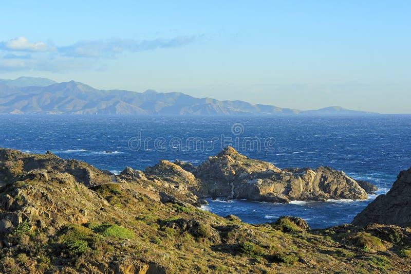Download Siktsudd Creus (Catalonia, Spanien) Fotografering för Bildbyråer - Bild av rock, nautiskt: 27288233