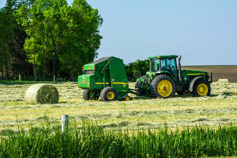 Silage Baler royalty free stock images
