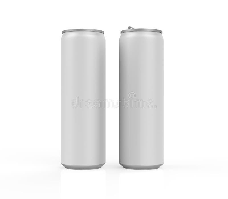 Silber-Dose  lizenzfreie abbildung