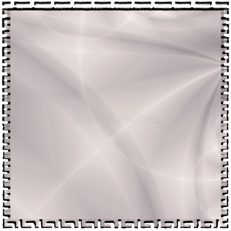 Silberne abstrakte Hintergrund-Tapete lizenzfreie abbildung