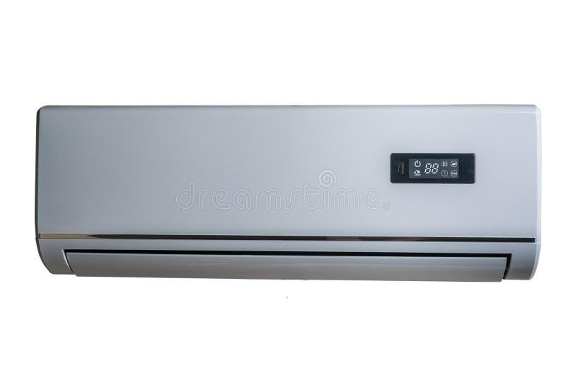 Silberne Klimaanlage stockfoto. Bild von luft, elektrisch - 42308142