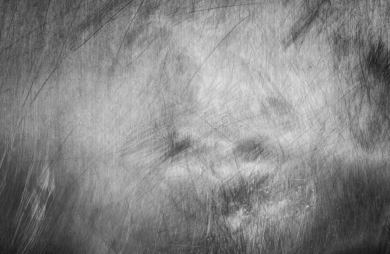 Silberne Kratzermetallwand lizenzfreie stockbilder