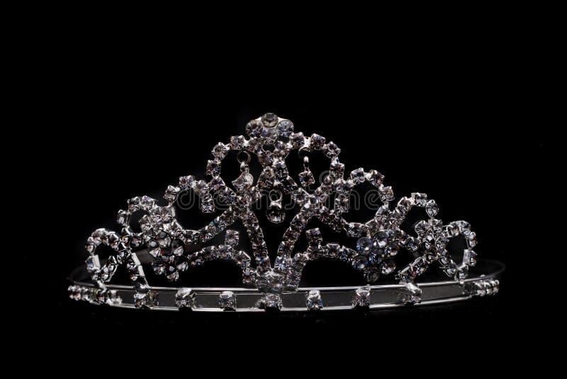Silberne Krone stockfoto