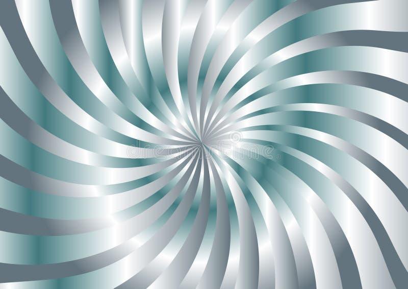 Silberner abstrakter Hintergrund stock abbildung
