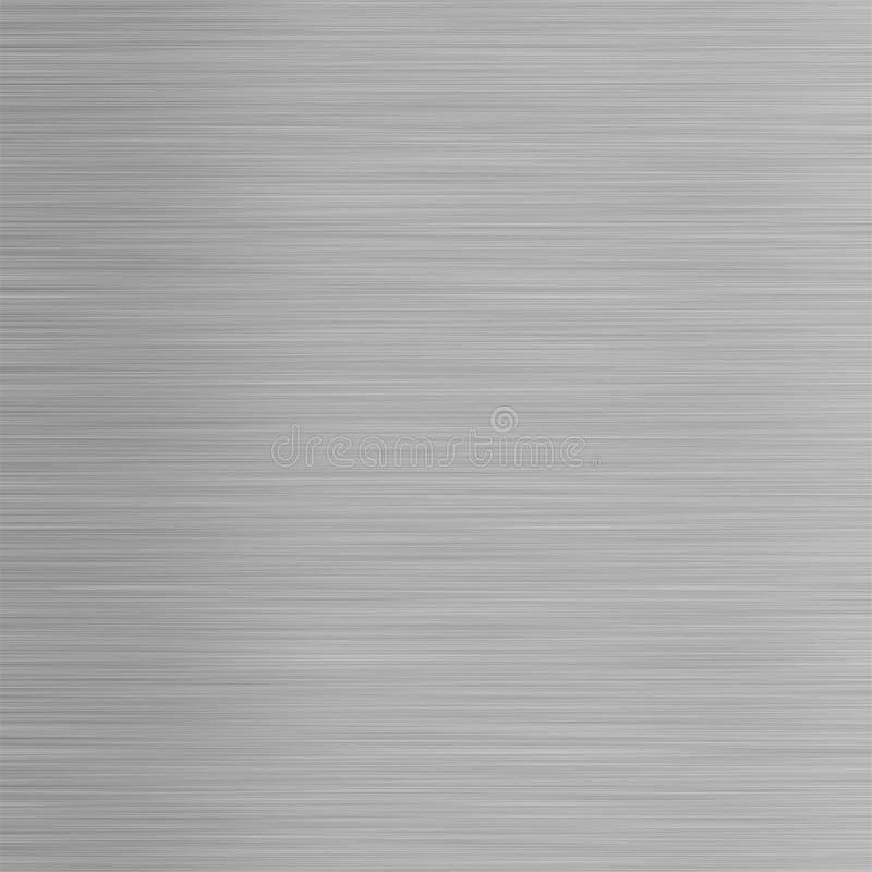 Silberner Aluminiumhintergrund lizenzfreie abbildung
