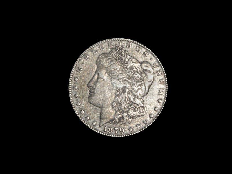 Silberner Dollar Stockfotos