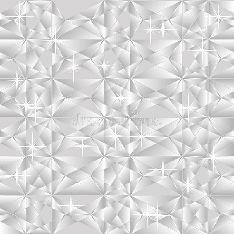 Silberner Hintergrund lizenzfreie abbildung