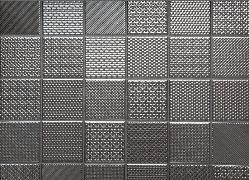 Silberner metallischer Stahlhintergrund lizenzfreie abbildung