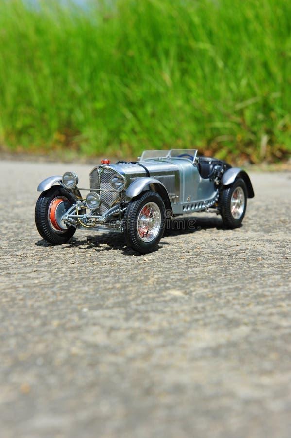 Silberner Pfeil - Rennwagen 1931 Mercedes-Benzs SSKL lizenzfreies stockbild
