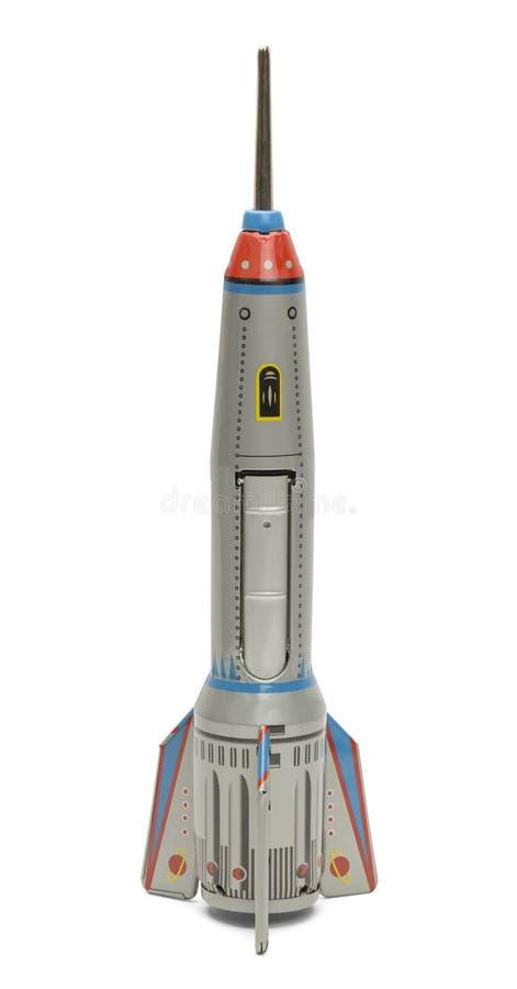 Silbernes Rocket stockbilder