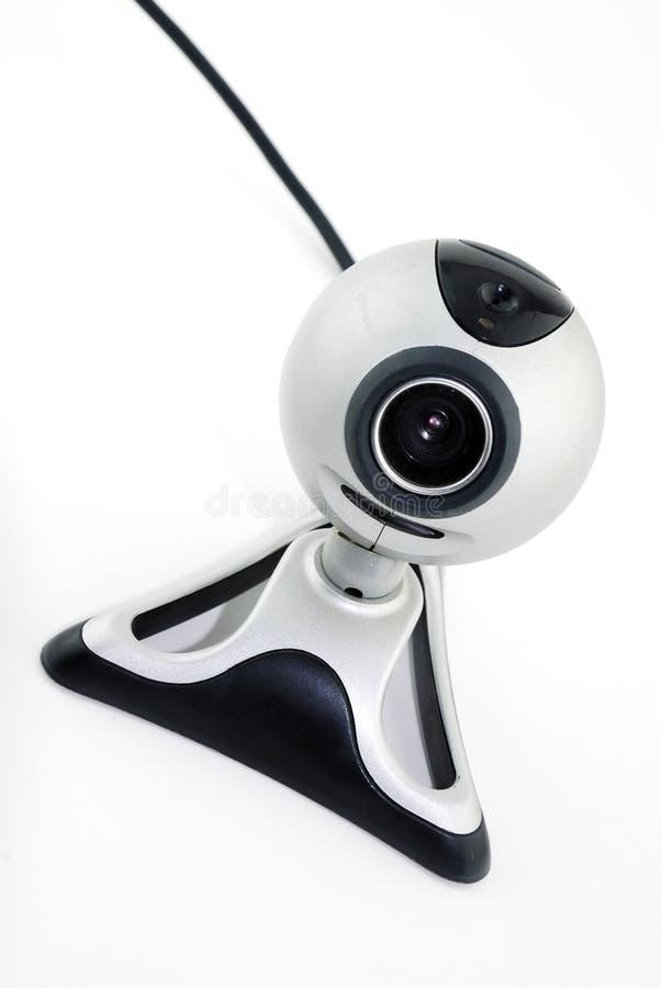 Silbernes Webcam stockbild