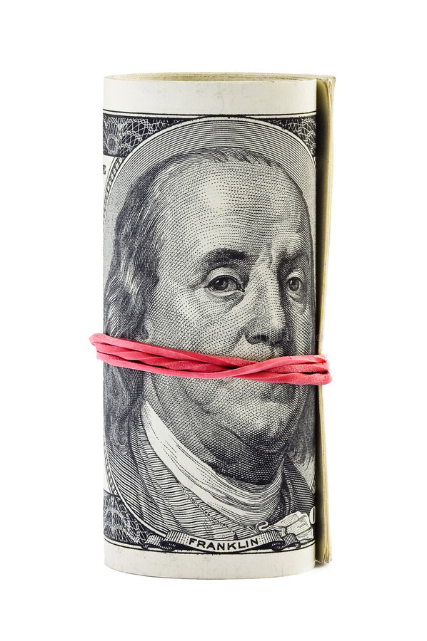 Silence d'argent image libre de droits