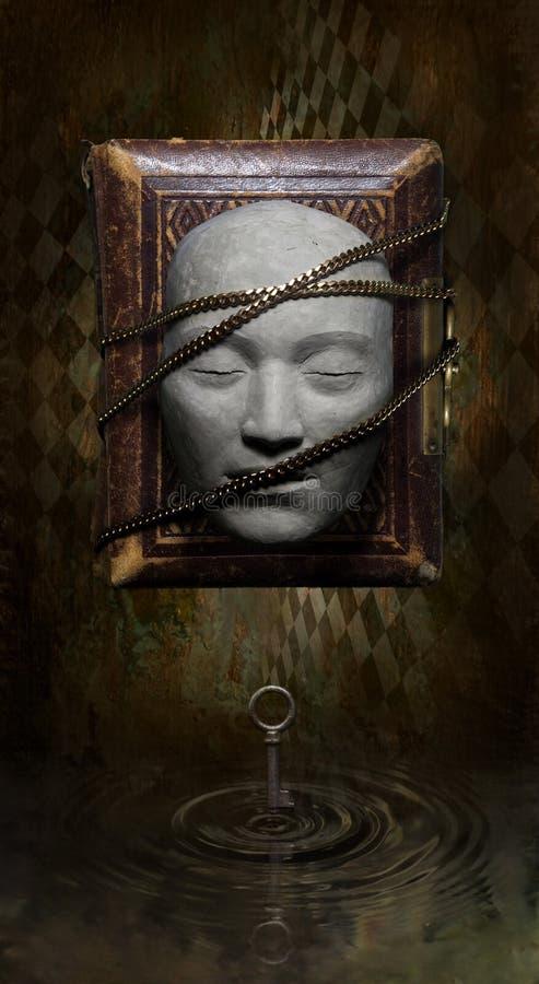 Silencio del Buddha fotografía de archivo libre de regalías
