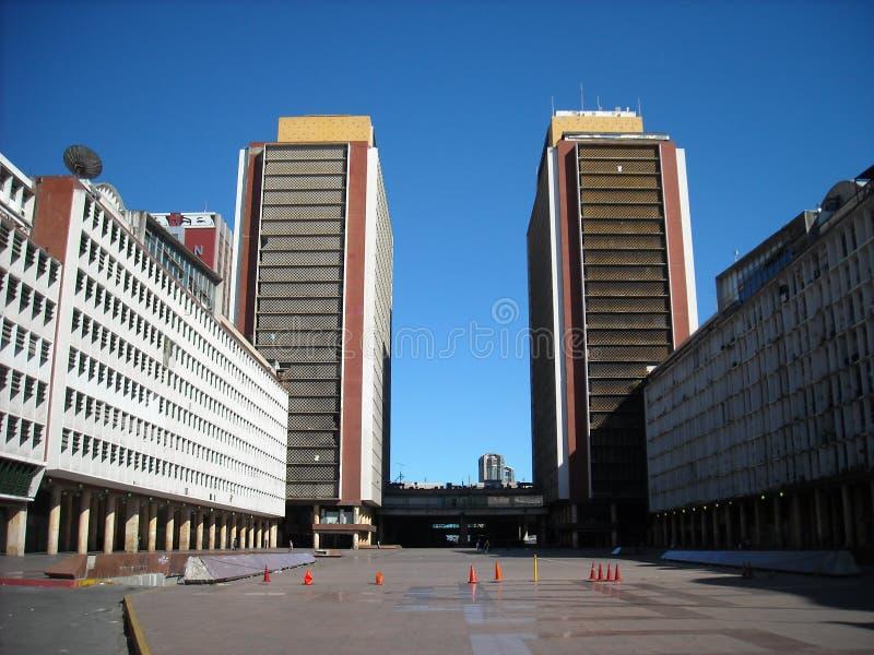 SILENCIO TOWERS SIMON BOLIVAR CENTER, CSB,TORRES DEL SILENCIO,EL SILENCIO, CARACAS,VENEZUELA nice. SILENCIO TOWERS SIMON BOLIVAR CENTER, CSB,TORRES DEL SILENCIO stock photography