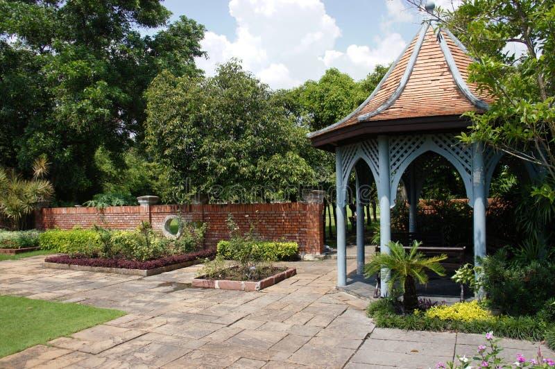 Silent Garden at Bangkok Thailand royalty free stock photos