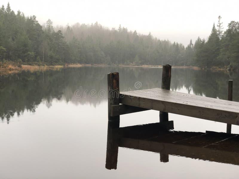 Silent lake royalty free stock images