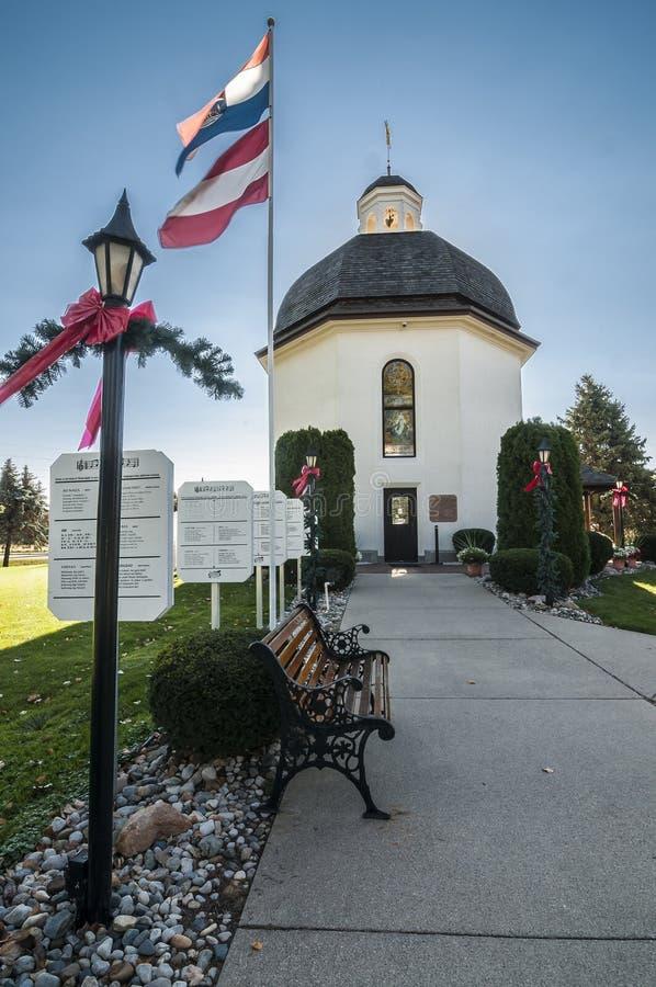 Free Silent Night Chapel (Stille-Nacht-Kapelleis) Stock Photos - 33839383