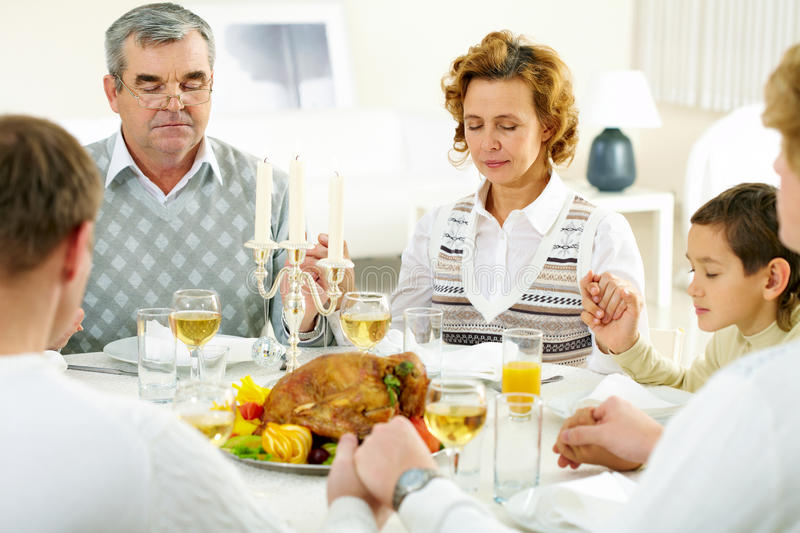 Download Silent pray stock photo. Image of occasion, poultry, person - 16869486