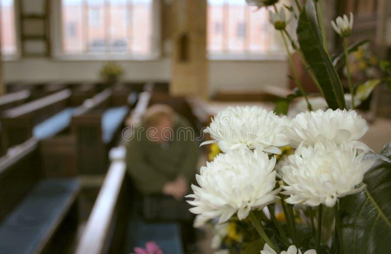 Silent Prayer Stock Photo
