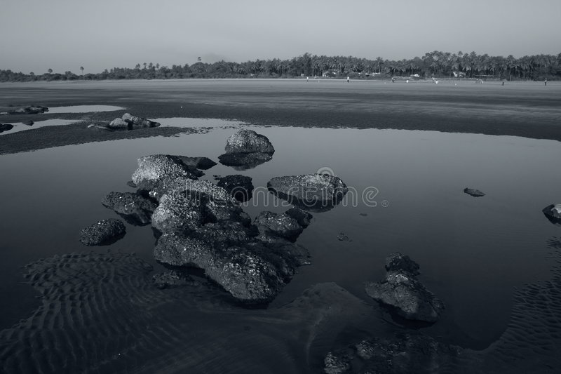 Download Silent rocks stock photo. Image of long, power, gray, beach - 6237928