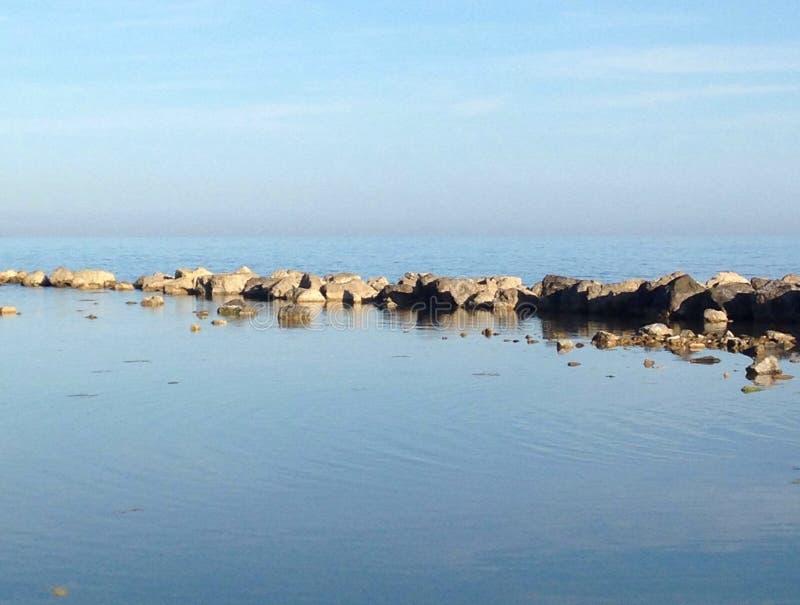 Silent Sea royalty free stock photo