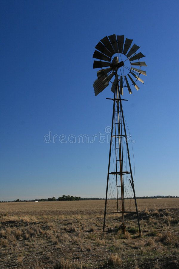 Silent Windmill royalty free stock photo