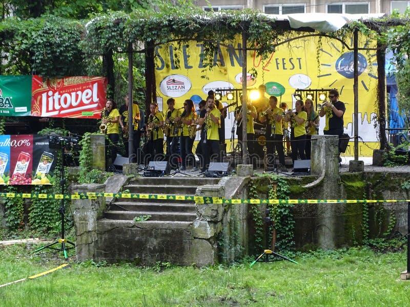 Silesian Fest 02. Silesian Festival for the 750th anniversary of Frýdek-Místek stock image