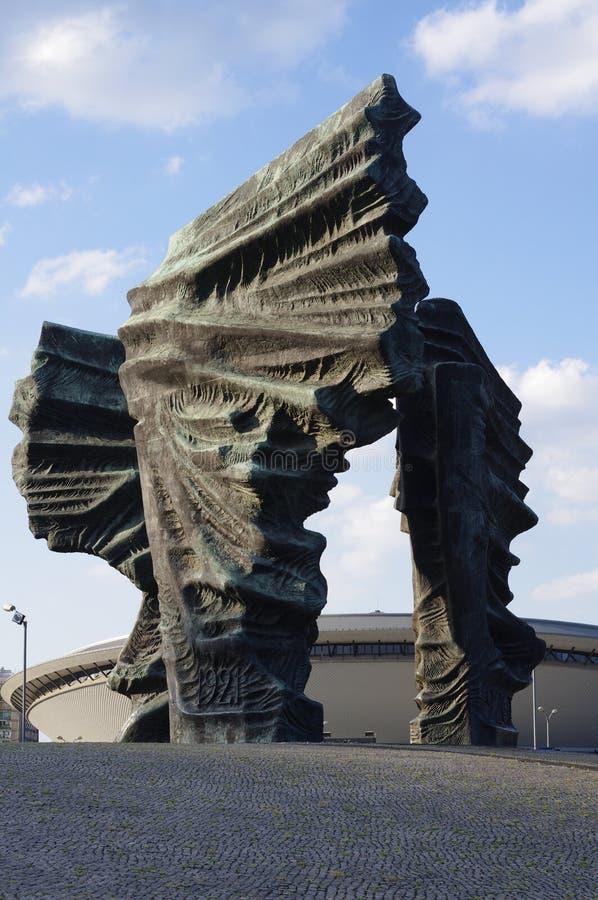 The Silesian Insurgents' Monument in Katowice, Poland royalty free stock photos
