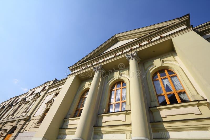 Silesian Opera. Bytom, Silesia region in Poland. Old beautiful architecture - Silesian Opera (Opera Slaska stock photo