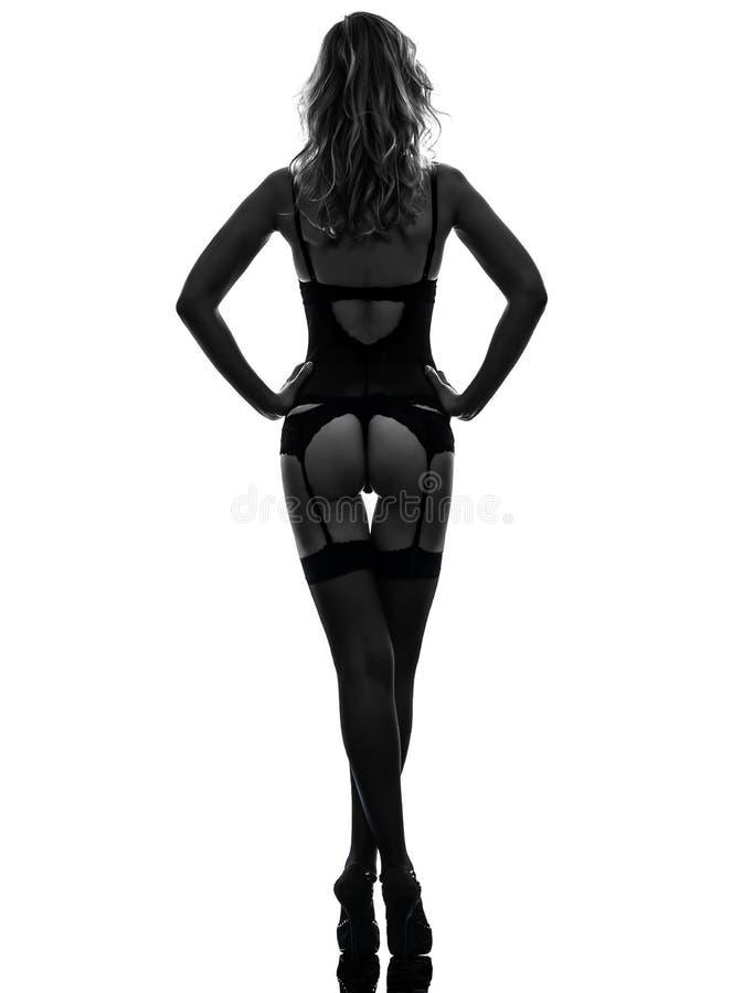 Женщины в трусах вид со спины127
