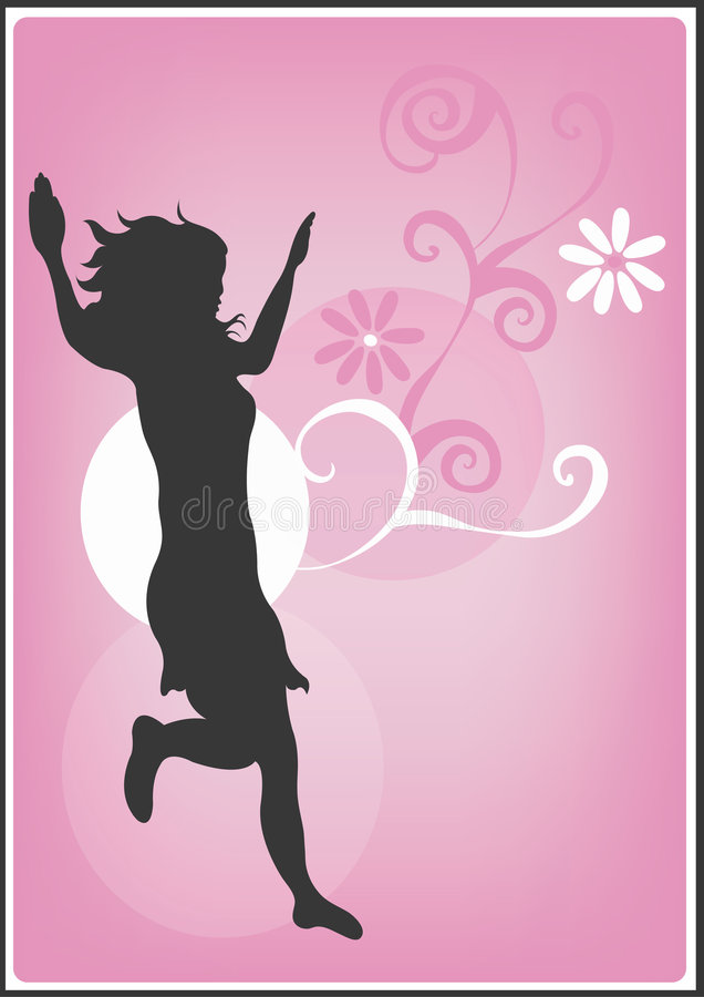 Silhouet vector illustratie